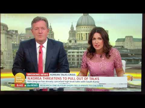 Drew Liquerman on GMB discussing Trump's foreign policy strategy
