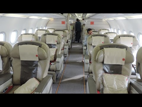 Royal Jordanian Business Class, Istanbul-Amman