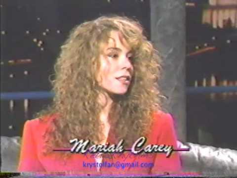 Mariah Carey 1990 - First TV Interview? (Part One)