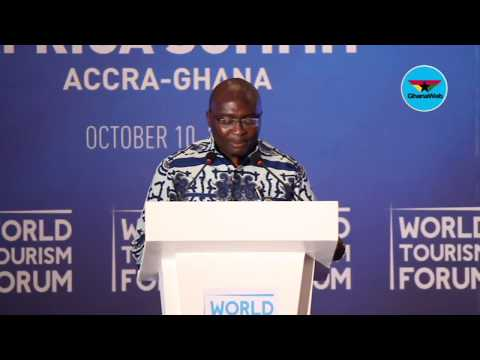 Bawumia promotes 'Ghana jollof' at World Tourism Forum Africa Summit