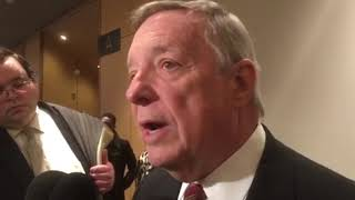 Durbin on Trump: 'He said those hateful things, and he said them repeatedly'