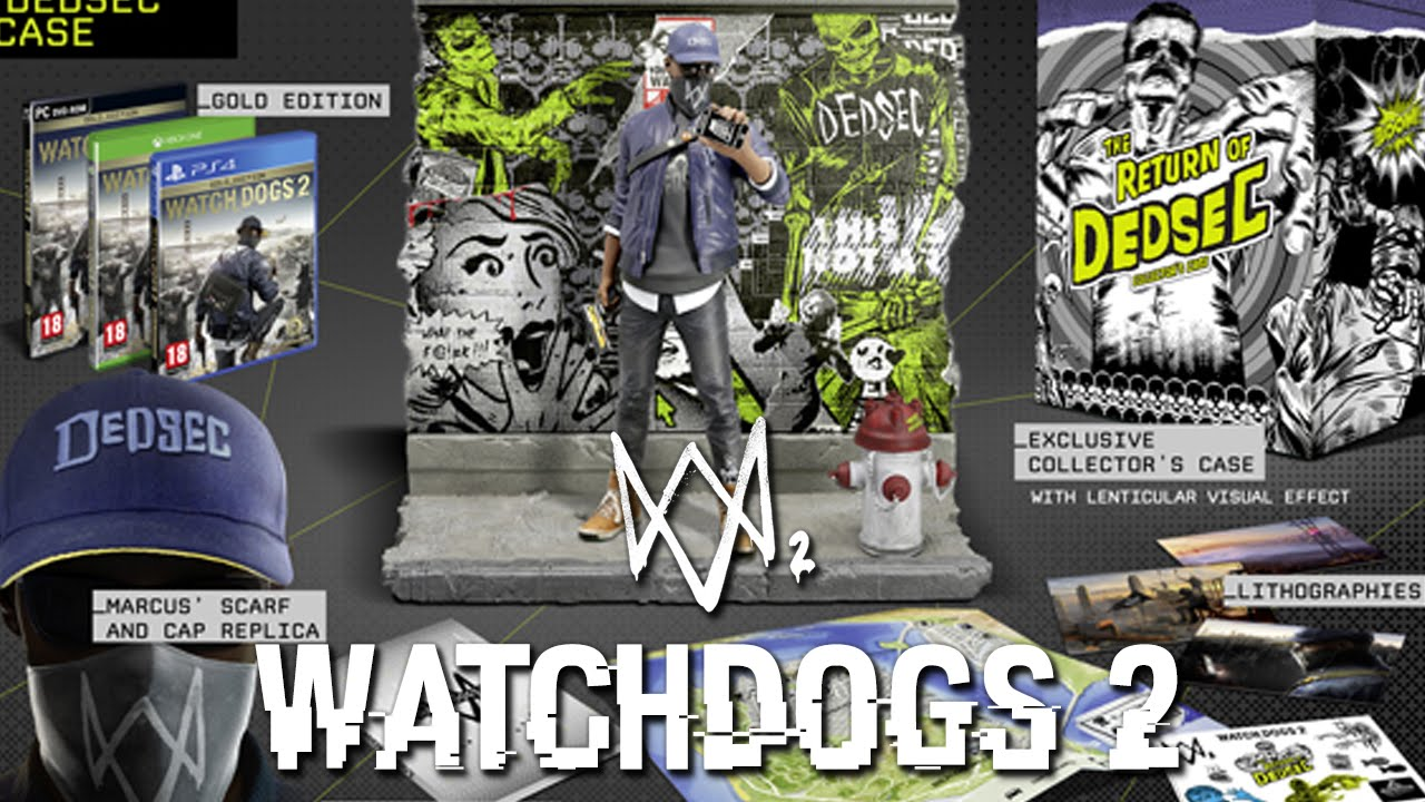 Watch Dogs 2 Official Playstation Store Pre Order: WHICH EDITION TO GET?! (Watch Dogs 2