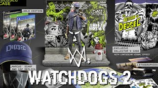 WATCH DOGS 2 - WHICH EDITION TO GET?! (Watch Dogs 2 Collectors Edition Run Down)