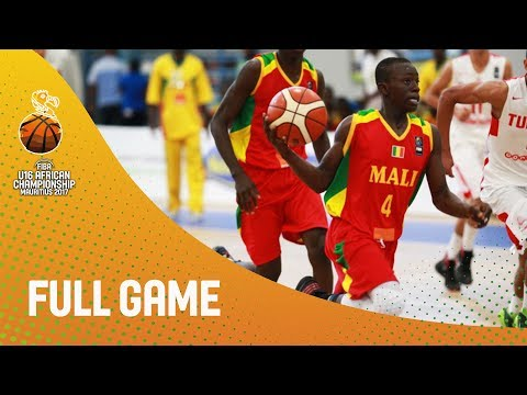 Tunisia v Mali - Full Game - FIBA U16 African Championship 2017