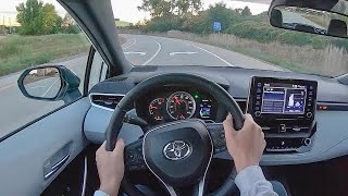2021 Toyota Corolla Apex Edition - POV Test Drive (Binaural Audio)