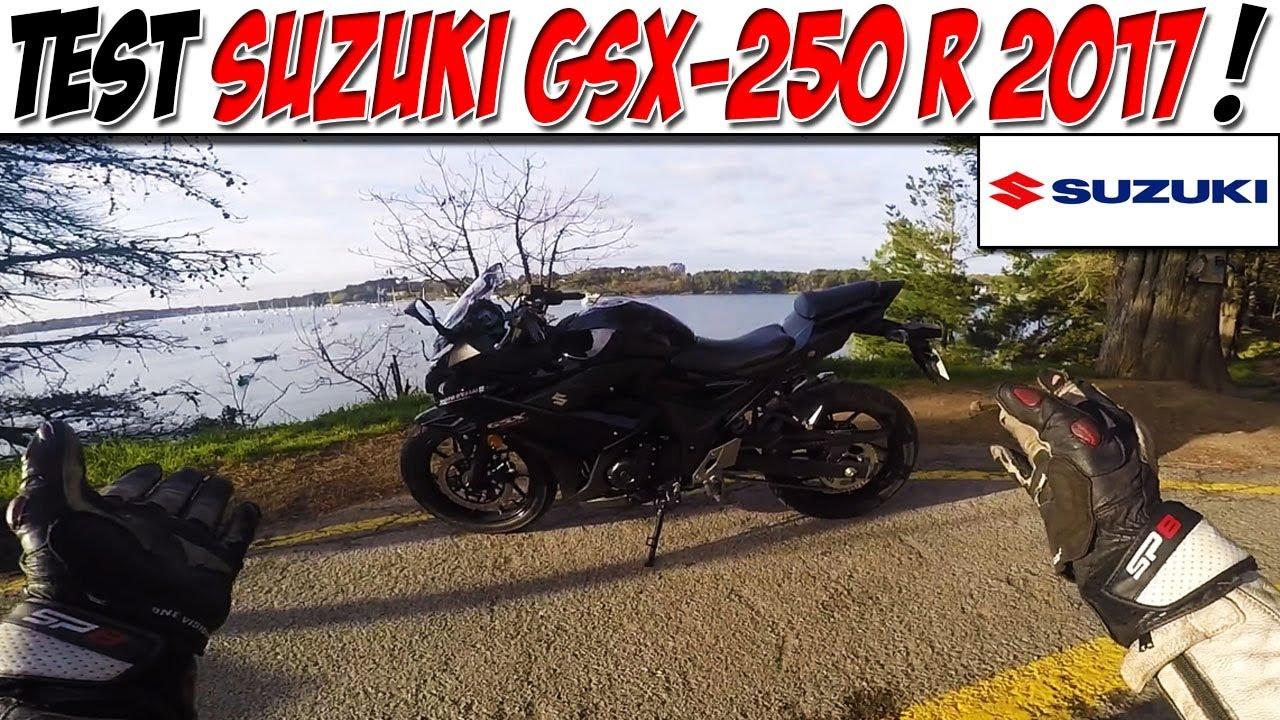 Moto Vlog 113 Test Suzuki Gsx 250 R A2 Rival Ninja 300 Youtube