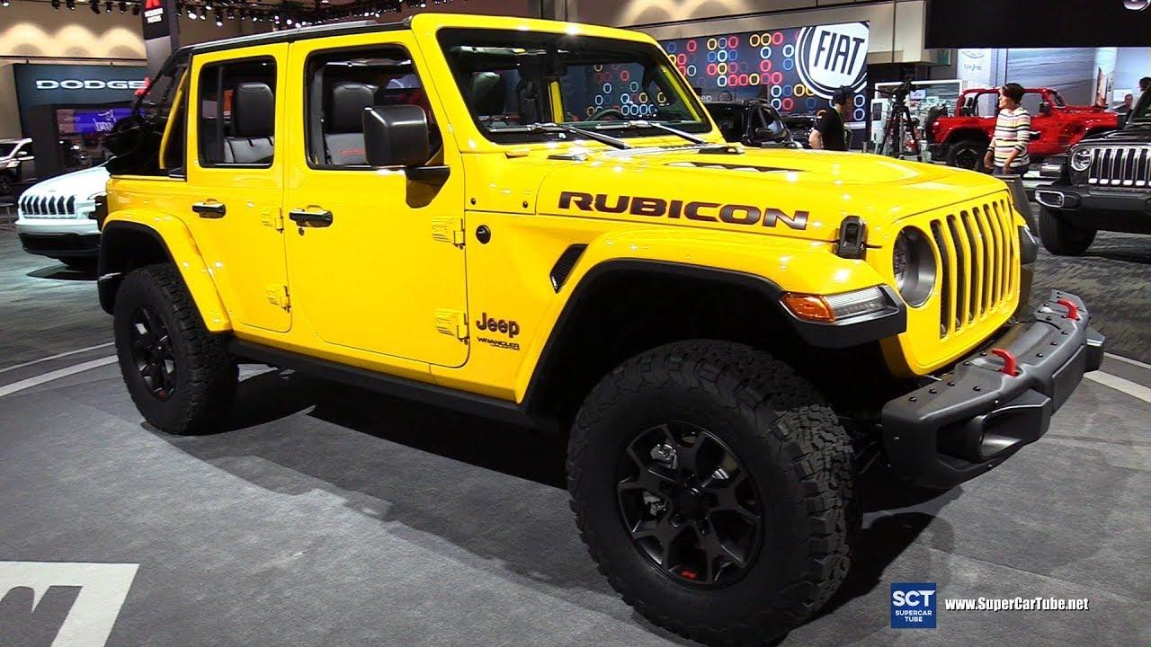 2018 Jeep Wrangler Rubicon - Exterior and Interior ...