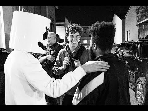 Marshmello Shocks Crowd By Revealing He Is Shawn Mendes!