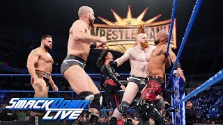 Ricochet & Aleister Black vs. The Bar: SmackDown LIVE, March 5, 2019