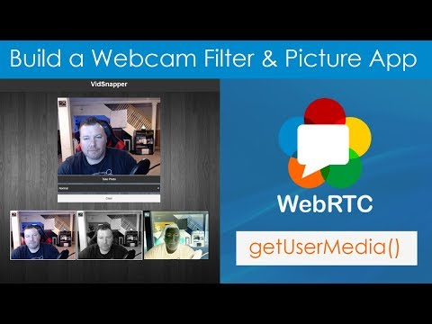 Build A Webcam Filter & Picture App With WebRTC & Canvas