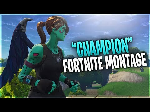 A Fortnite Montage 'Champion' - Insane Fortnite Montage | Croz Top Console Fortnite Player