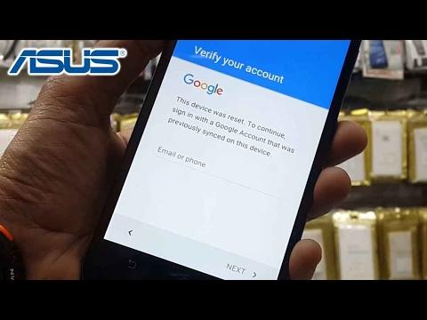 Latest 2017 Asus Zenfon How To Bypass Google Verify Account Frp