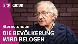 Noam Chomsky – Wissenschaftler und Rebell | SRF Sternstunde Philosophie vom 28.10.2012