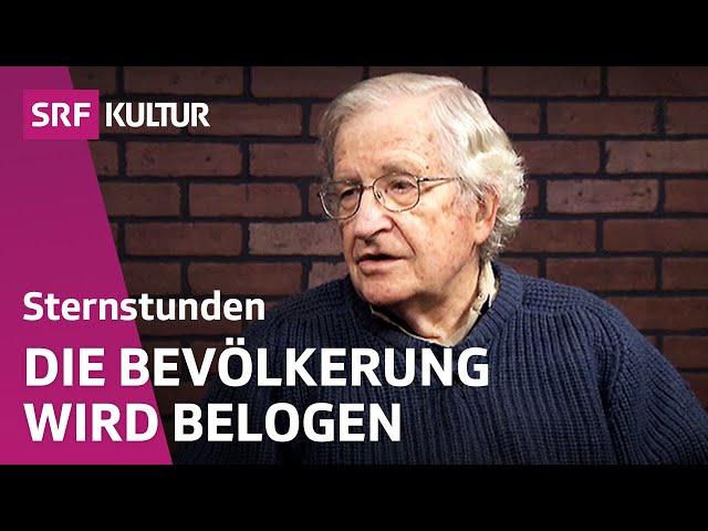 Noam Chomsky – Wissenschaftler und Rebell   Sternstunde Philosophie   SRF Kultur