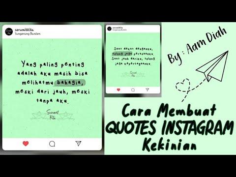 Video kali ini membahas aplikasi pembuat quotes terbaik yang ada di android. Nah, jika kamu ingin me.