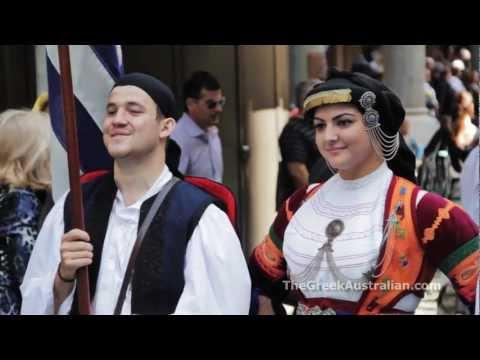Greek Independence Day 2012: Sydney, Australia