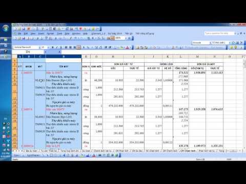 Phần mềm dự toán 2014 chạy trên nền Excell không cần cài đặt