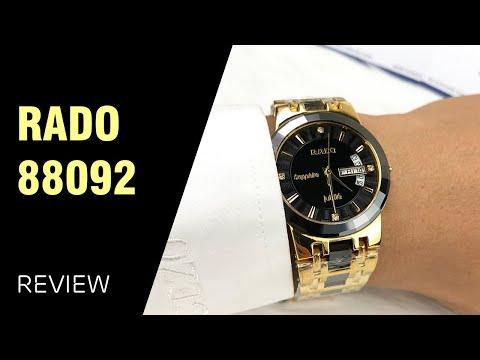 Đồng Hồ Nam Rado 88092 Kính Sapphire, Máy Kín Khoang
