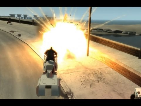 GTA IV - Star Wars Speeder Bike Script By JulioNIB [W.I.P.]