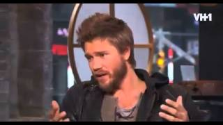 Chad Michael Murray - VH1 Big Morning Buzz Live (01/05/2014)
