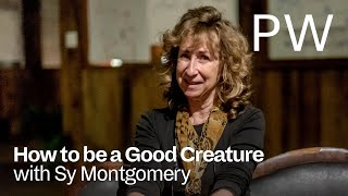 Poet and scientist sy montgomery reflects on the personalities quirks of thirteen animal friends truths revealed by their grace.sy has...