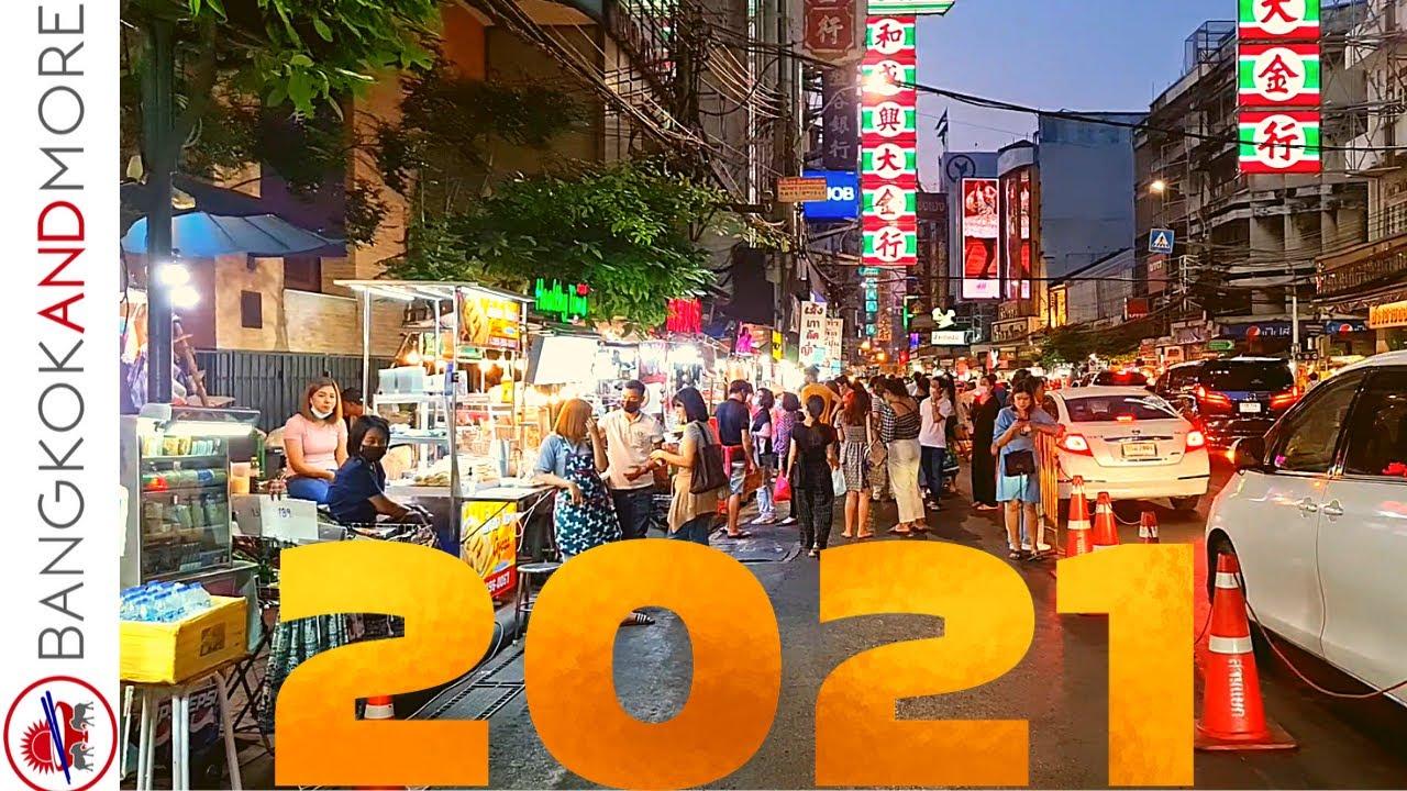 Street Food In BANGKOK Chinatown │ Today 2021