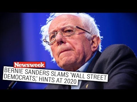 """Bernie Sanders Fires Back at """"Wall Street Democrats"""" Who Attacked Him"""