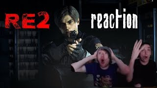 RESIDENT EVIL 2 (REmake) REACTION!!!!