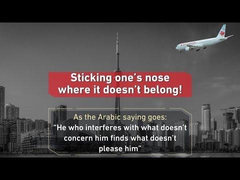 Saudi Arabia Feud With Canada Explained