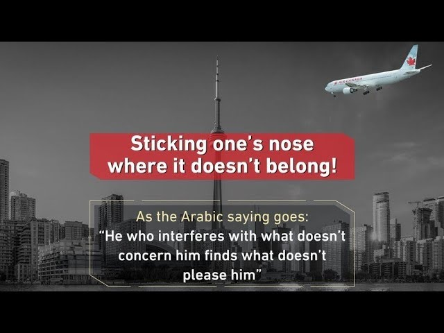 Saudi Arabia Feud With Canada Explained
