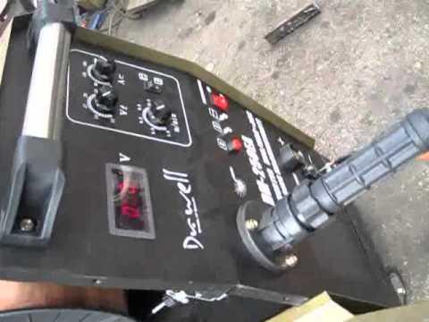 MIG 250EAC Welding Mild Steel Plate 2