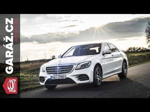 Mercedes Benz S 400d 4MATIC Test GAR .cz P n tvorstva