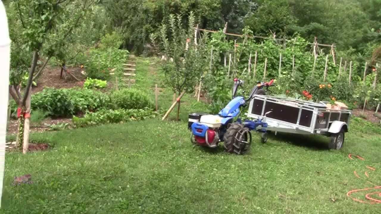 Attelage motoculteur maison pour remorque vl youtube - Remorque de jardin pour autoportee ...