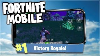 Fortnite MOBILE Gameplay - Squads With Subscribers! - iOS Fortnite (Fortnite Mobile Gameplay)