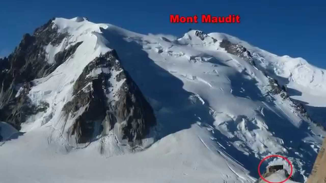 ascensi n al mont blanc du tacul 4248 m por l aiguille du midi alpes youtube. Black Bedroom Furniture Sets. Home Design Ideas