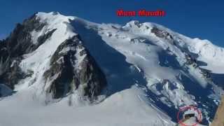 Ascensión al Mont Blanc du Tacul (4248 m.)por l´Aiguille du Midi ( Alpes )
