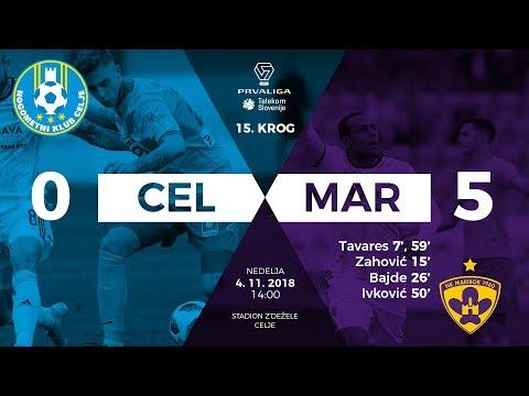 15.krog: Celje - Maribor 0:5 ; Prva liga Telekom Slovenije 2018/2019