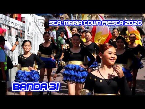 Sta. Maria Bulacan Town Fiesta 2020 | Banda 31