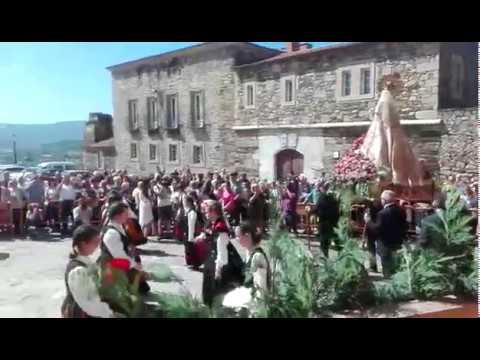 Monforte honra a la virgen de Montserrat