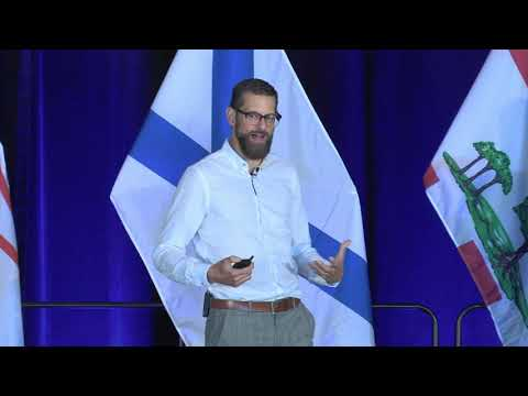 Kris Braun: Welcoming Displaced Talent (Innovate Atlantic 2019)