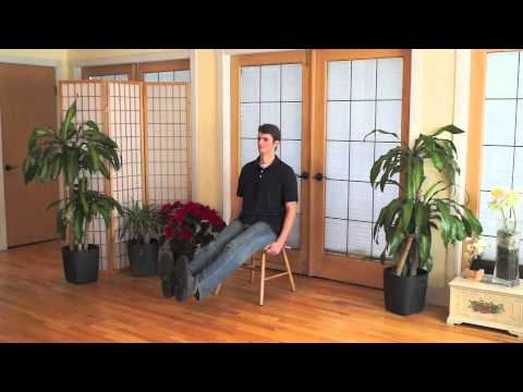 Mindful Chair Yoga: A Practice for the Legs (30 min)