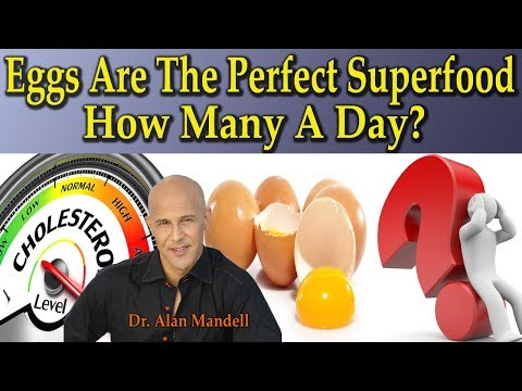 EGGS - Natures Perfect Superfood  /  How Many A Day To Stay Healthy? - Dr Alan Mandell, D.C.