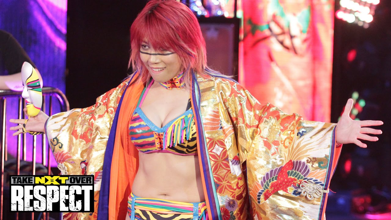 WWE Network: Asuka arrives in NXT: WWE NXT TakeOver: Respect - YouTube