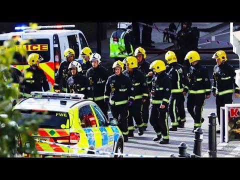 Bomb Explodes On London Train