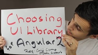 Angular 2 - Choosing / Evaluating a UI Library (Grid Component, OData, Kendo UI)