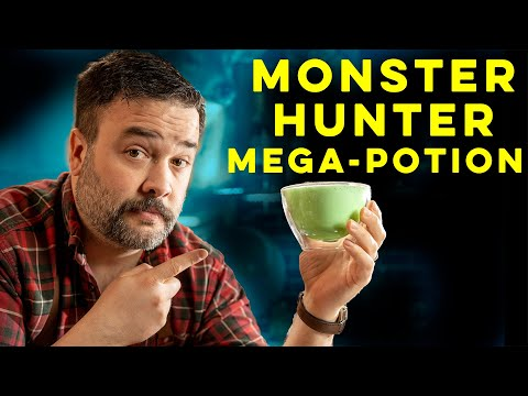 Mega-Potion from Monster Hunter Rise | How to Drink