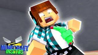Minecraft Insetos #07 - TEM UM MONSTRO NA MINHA BARRIGA!