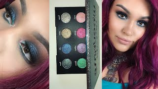 urban decay   moondust palette review demo