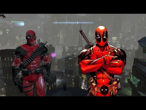 Batman Arkham Origins Deadpool Mod