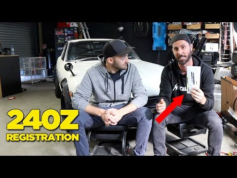 RB26 240Z - Registration (and Bad News)